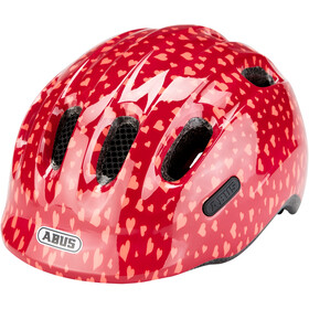 ABUS Smiley 2.0 Fietshelm Kinderen, cherry heart